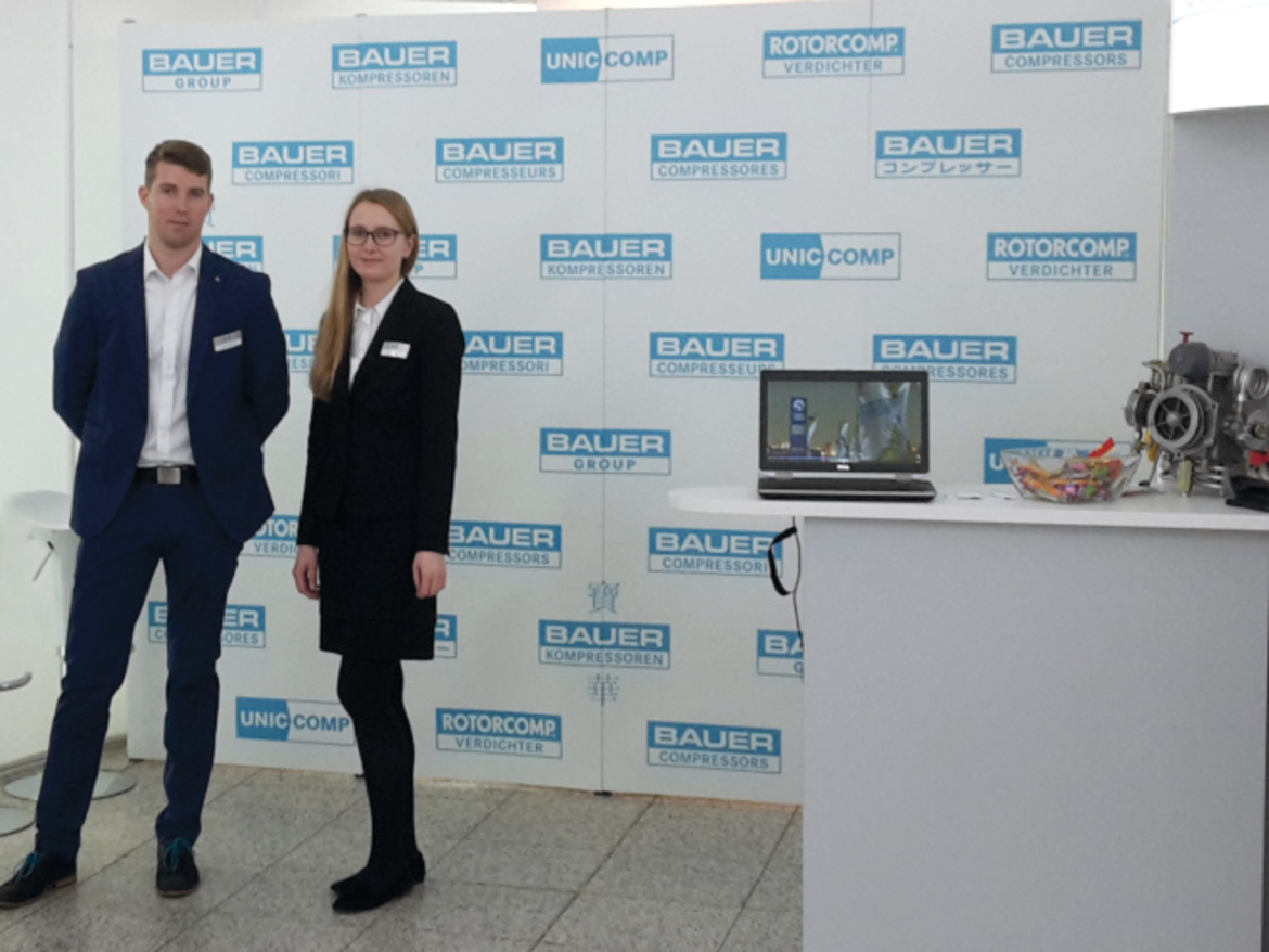 BAUER GROUP at IKOM 2016, Munich