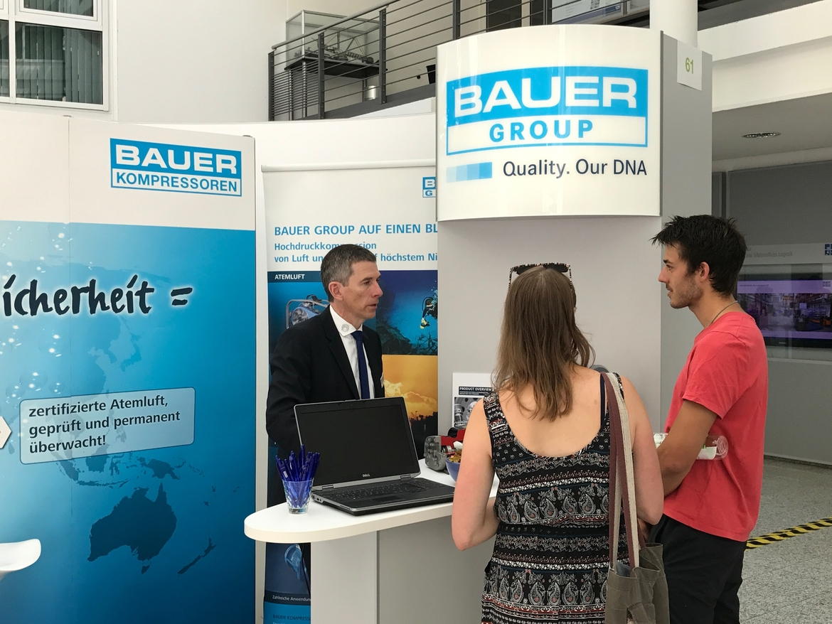 BAUER GROUP at IKOM 2017, Munich