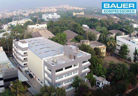 Company building of BAUER India